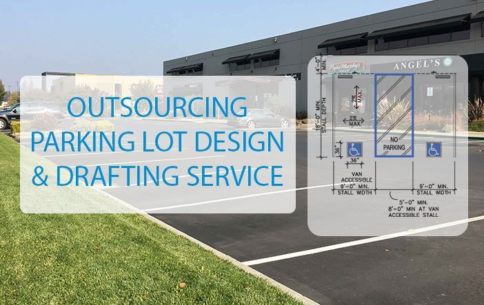 parking lot design and drafting service