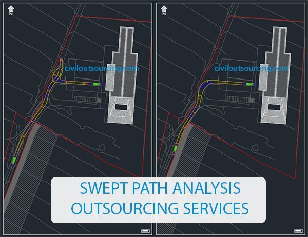swept path analysis outsourcing services